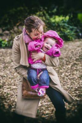 Family Photography in The Botanic Gardens Edinburgh