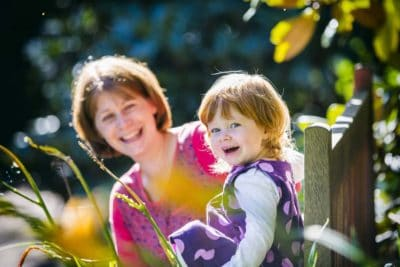 Family Photography in The Botanic Gardens Edinburgh