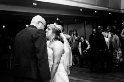 black and white wedding photography Broxburn near Edinburgh